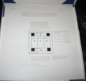 Die vierte von vier Firwitz-Seiten zum 245. Teilabriss im dafür geschaffenen Karton