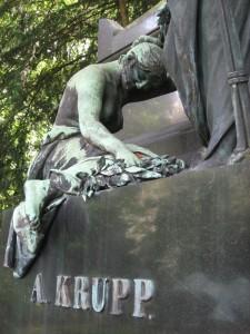 Das Grab von A. Krupp auf dem Friedhof Essen-Bredeney; Foto: Wolfgang Cziesla