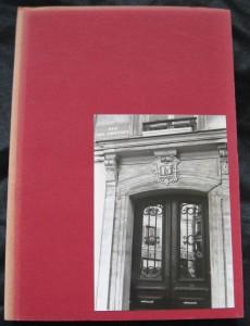 Das Cover des Privatdrucks - Das Foto zeigt den Eingang zu Oskar Panizzas Wohnung in Paris (Foto: W. Cz.)