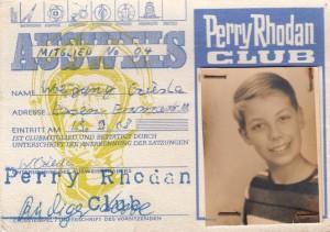 Mein Perry-Rhodan-Clubausweis von 1968