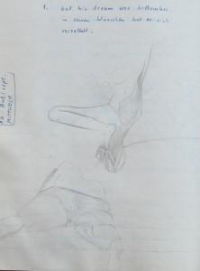 Notizbuch 35, Seite 48: But his dream was bottomless