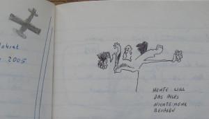 Notizbuch 33, Seite 119 (Detail)