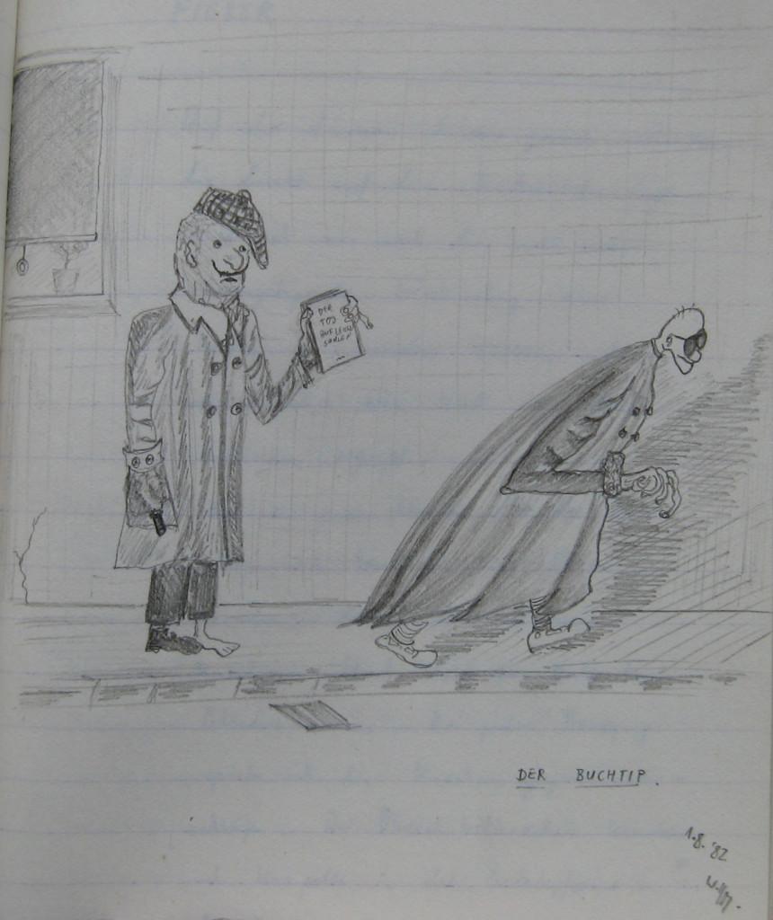Notizbuch 33, Seite 159: Buchtipp (Der Tod auf leisen Sohlen)