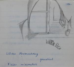 Notizbuch 33, Seite 171: Winter Piece