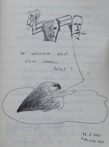 Notizbuch 33, Seite 25: In welchem Geiste steht Samuels Arbeit