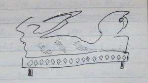 Notizbuch 30, Seite 36 (Detail: Mach's Dir bequem)