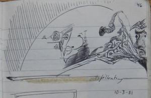 Notizbuch 30; Seite 46 (Detail: infiltrating)