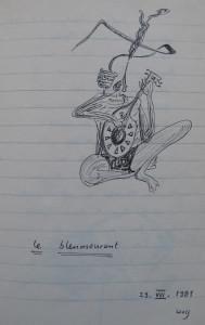 Notizbuch 32, Seite 52: le bleumourant, 29.VIII.1981