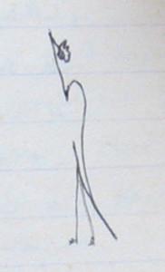 Notizbuch 29, Seite 74, Vignette